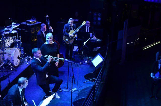 Turku Jazz Orchestra & Johanna Försti Trumpet solo: Jukka Eskola Photo: Pia Jalkanen