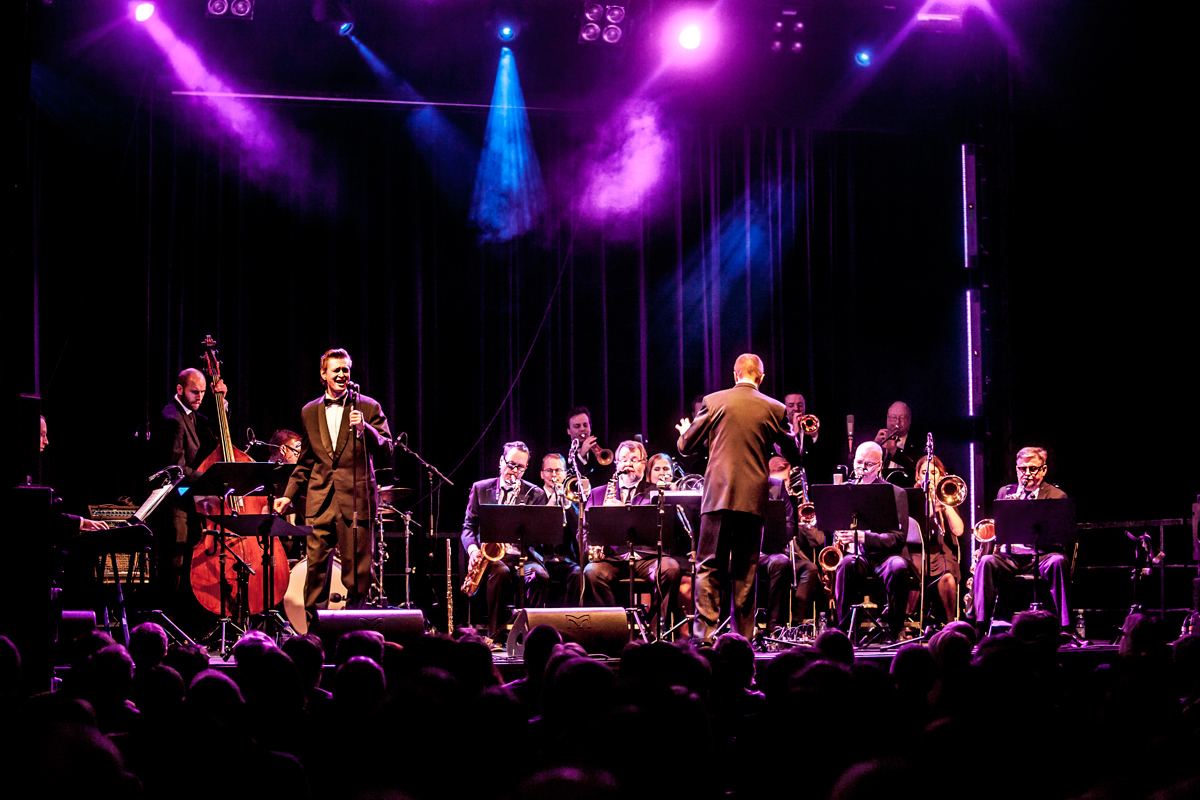 Turku Jazz Orchestra & Juki Välipakka, kuva Olli Sulin