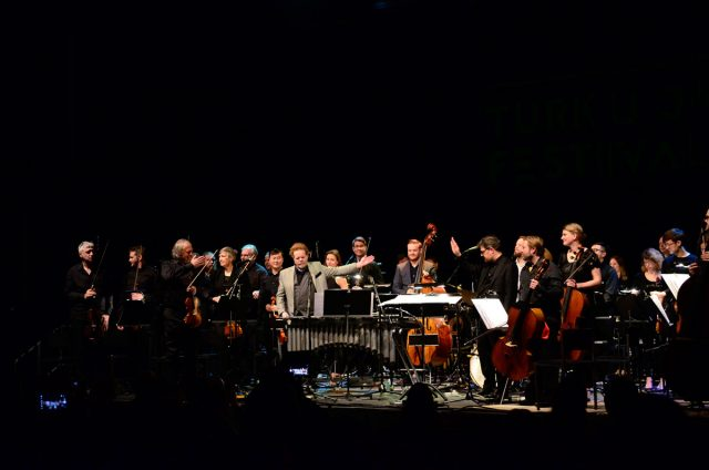Severi Pyysalo 50 & Turun filharmoninen orkesteri. Kuva: Pia Jalkanen