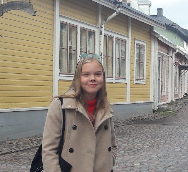 Petra Wegelius on Jazz City Turun kesätyöntekijä 2019. Kuva: Katja Wegelius.